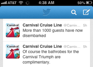 Carnival Bathrobes