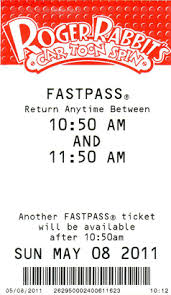 fastpass roger r