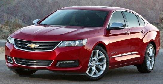 The 2014 Chevy Impala. It's nothing special, and that's what's special about it.